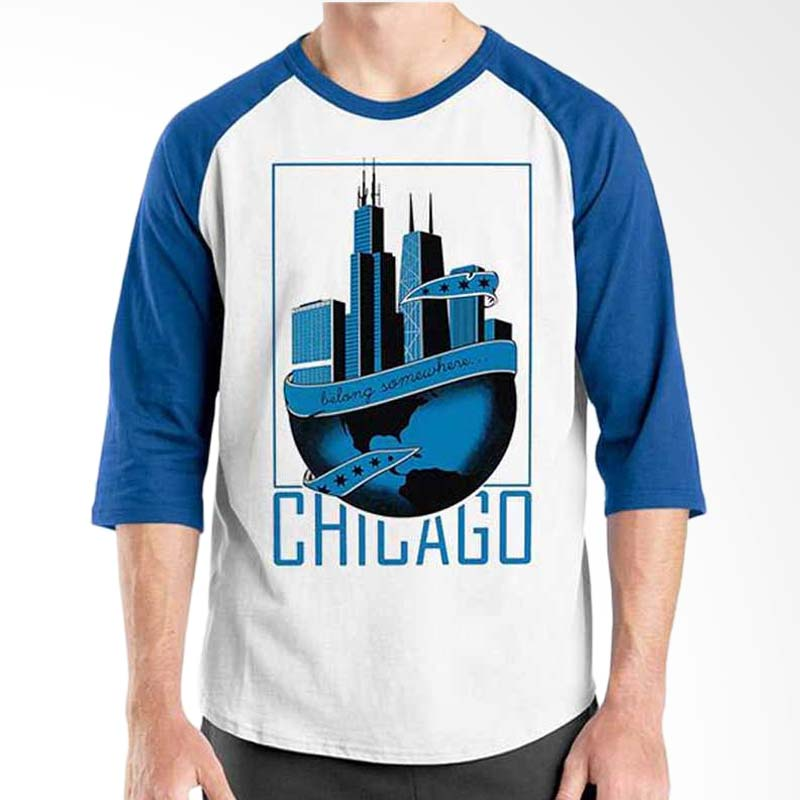 Ordinal Best City World Series Chicago 02 Raglan