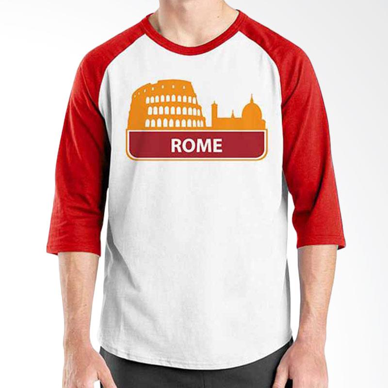 Ordinal Best City World Series Rome 6 Raglan