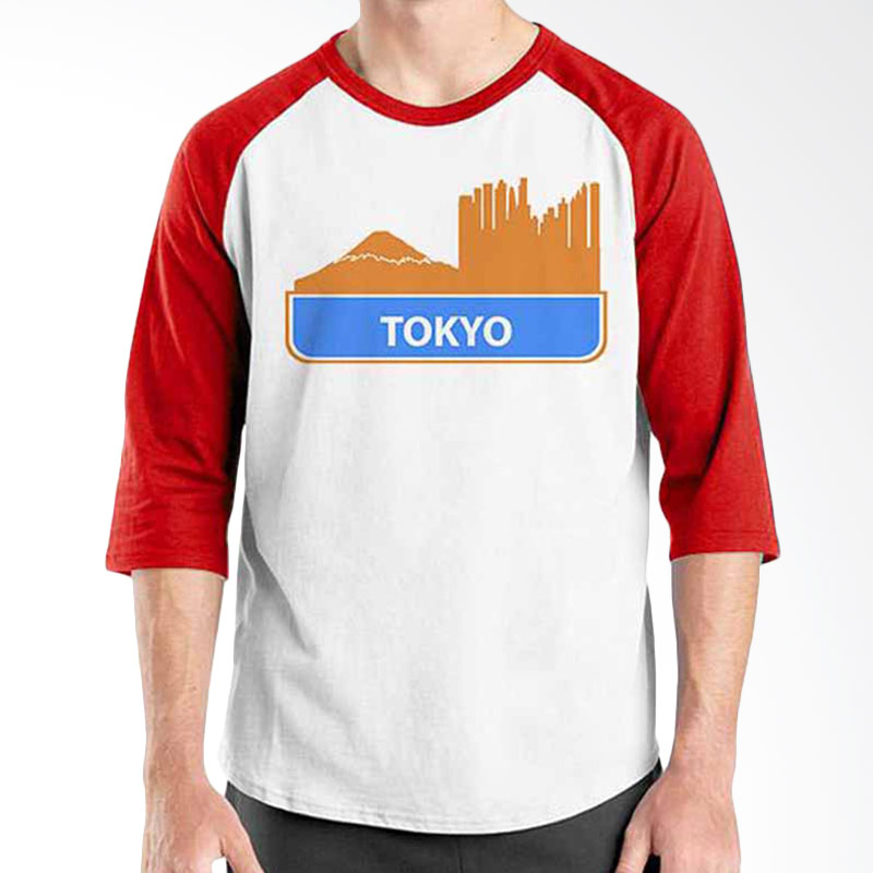 Ordinal Best City World Series Tokyo 04 Raglan