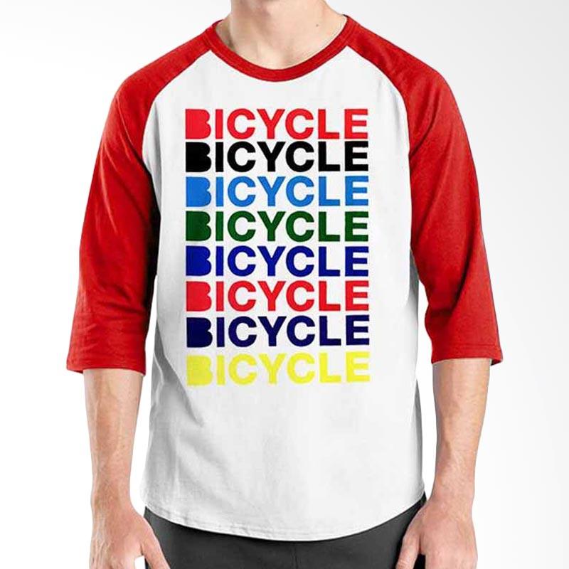 Ordinal Bicycle Series Bicycle Bicycle Raglan