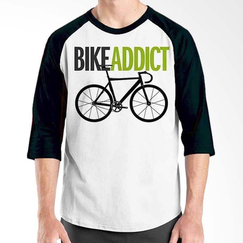 Ordinal Bicycle Series Bike Addict Raglan