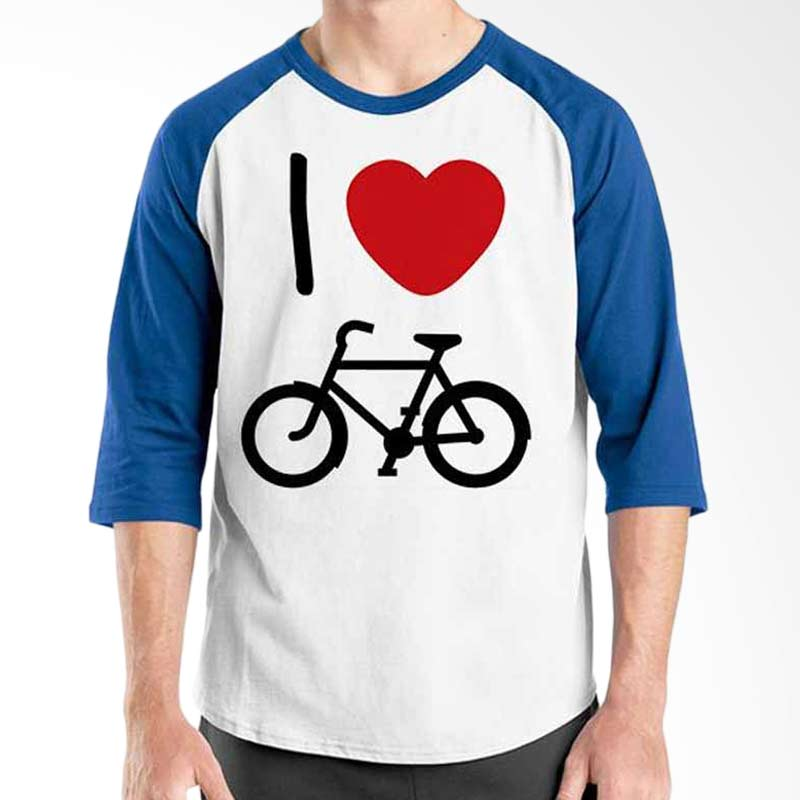 Ordinal Bicycle Series Bike I Love Bicycle Raglan
