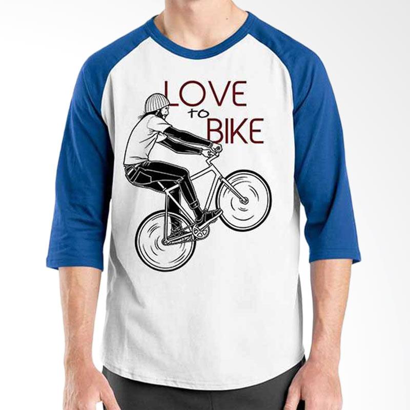 Ordinal Bicycle Series Bike Love To Bike Raglan