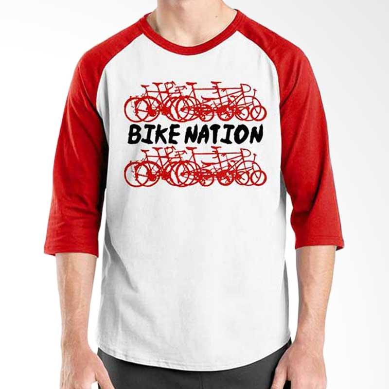 Ordinal Bicycle Series Bike Nation Raglan