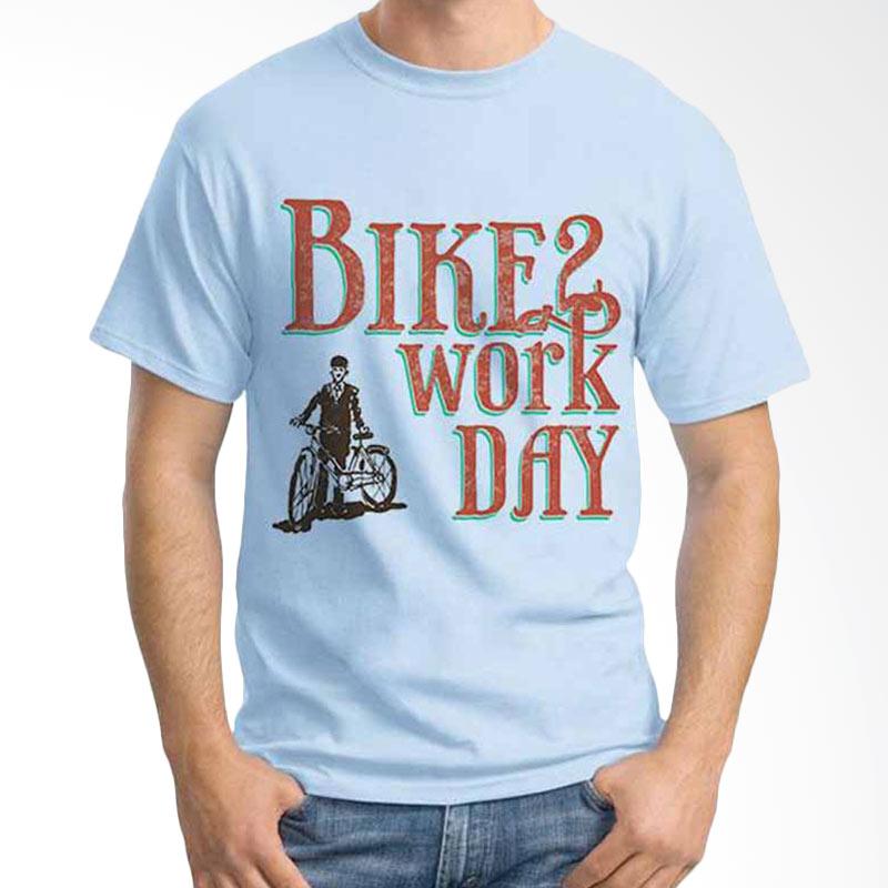 Ordinal Bike To Work 02 T-shirt
