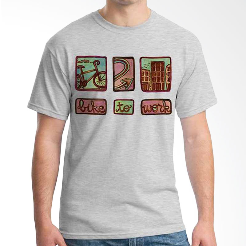 Ordinal Bike To Work 03 T-shirt
