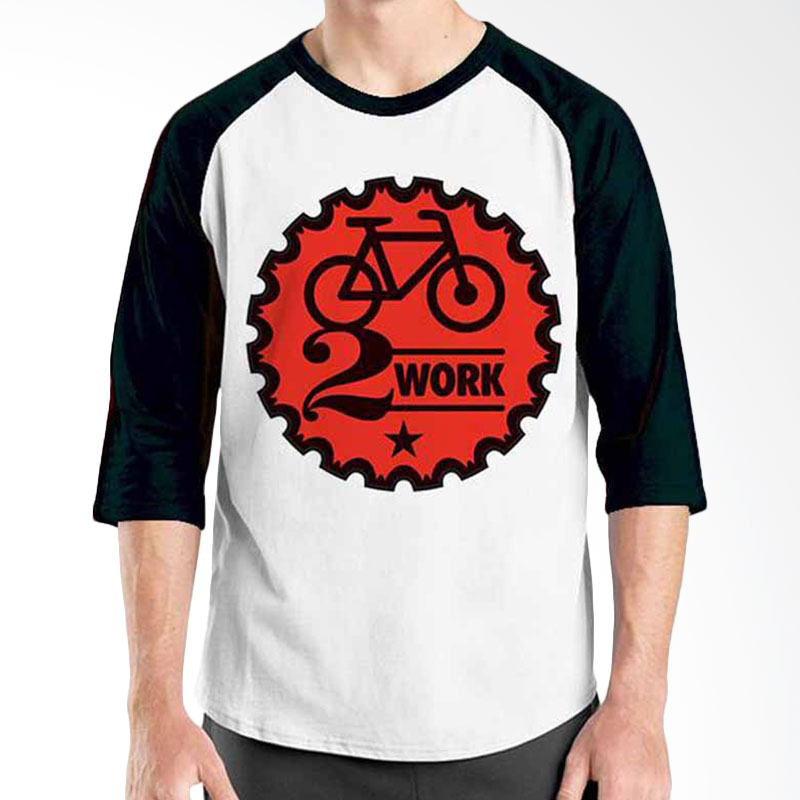 Ordinal Bike To Work 05 Raglan