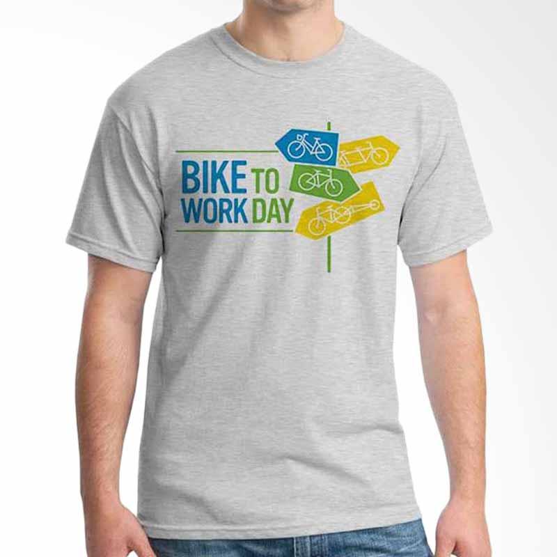 Ordinal Bike To Work 06 T-shirt