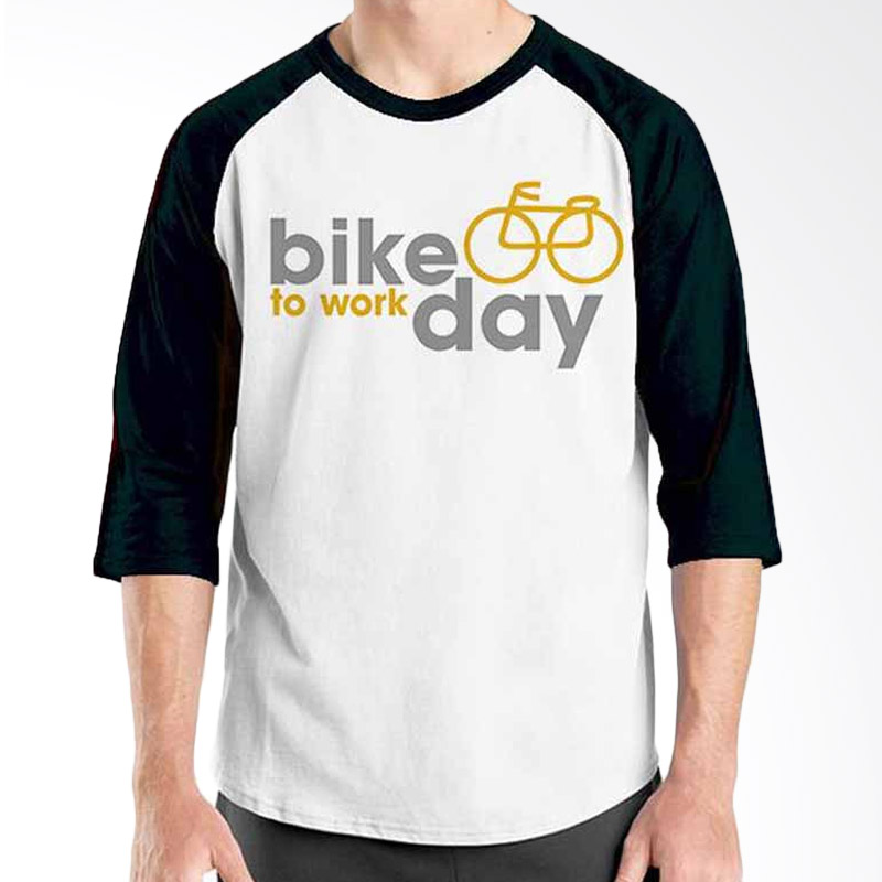 Ordinal Bike To Work 07 Raglan