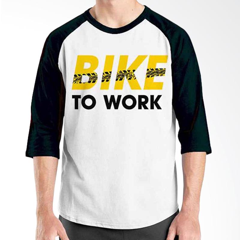Ordinal Bike To Work 10 Raglan