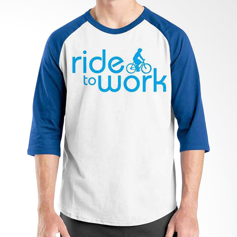 Ordinal Bike To Work 14 Raglan