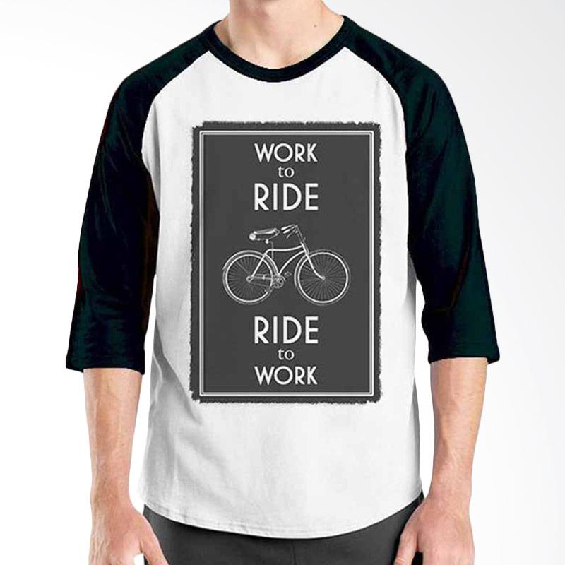 Ordinal Bike To Work 15 Raglan