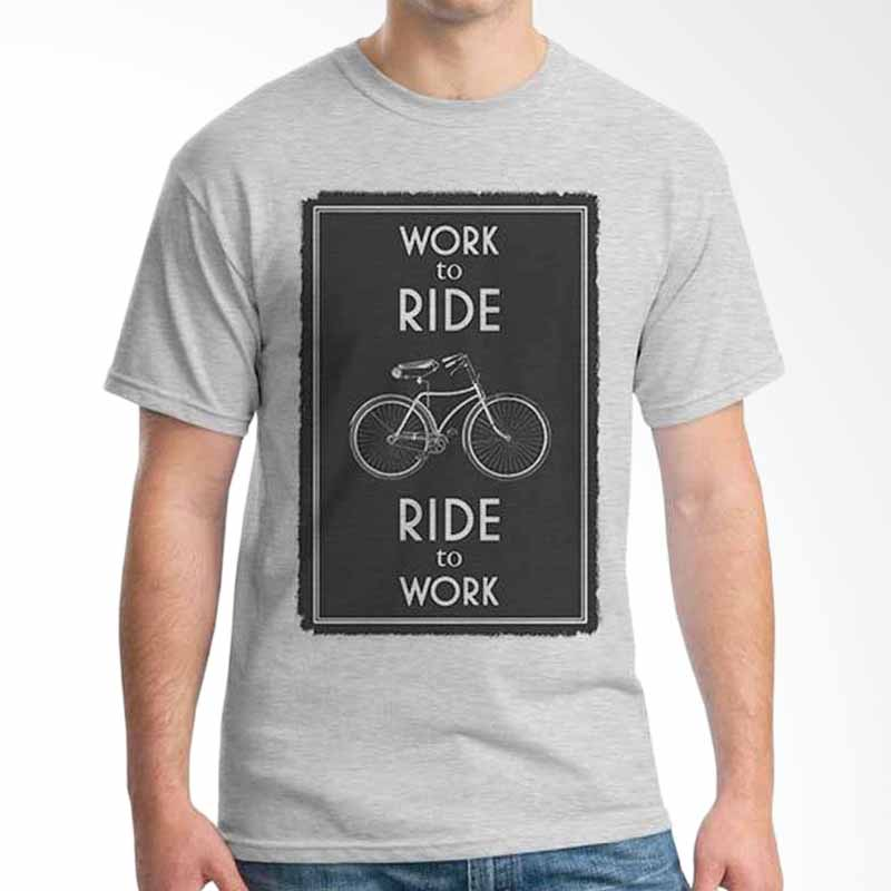 Ordinal Bike To Work 15 T-shirt