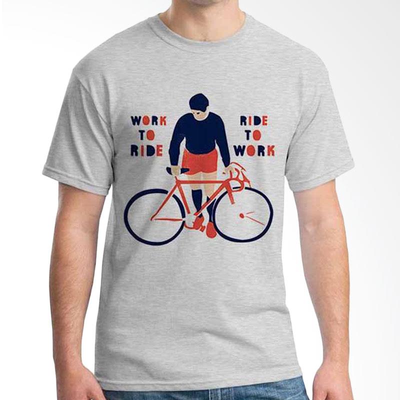 Ordinal Bike To Work 16 T-shirt