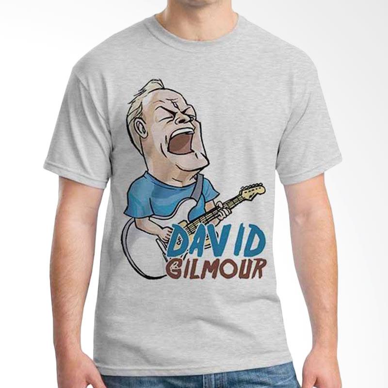 Ordinal Cartoon Musician David Gilmour T-shirt
