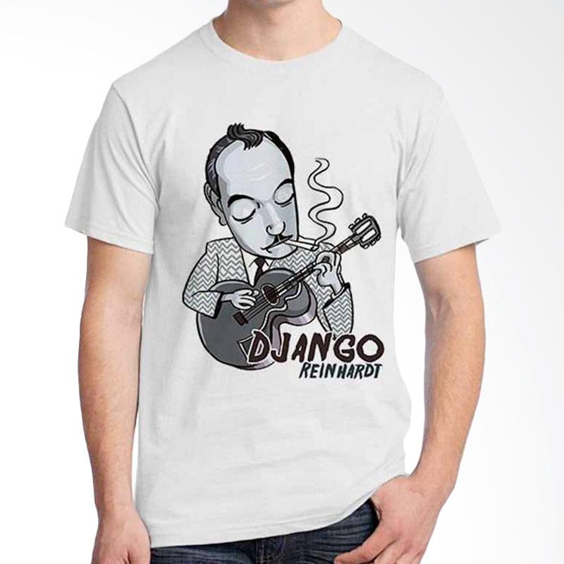 Ordinal Cartoon Musician Django Reinhardt T-shirt