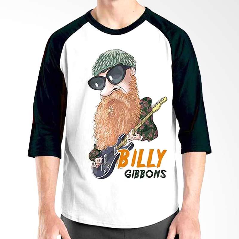 Ordinal Cartoon Musician Edition Billy Gibbons Raglan