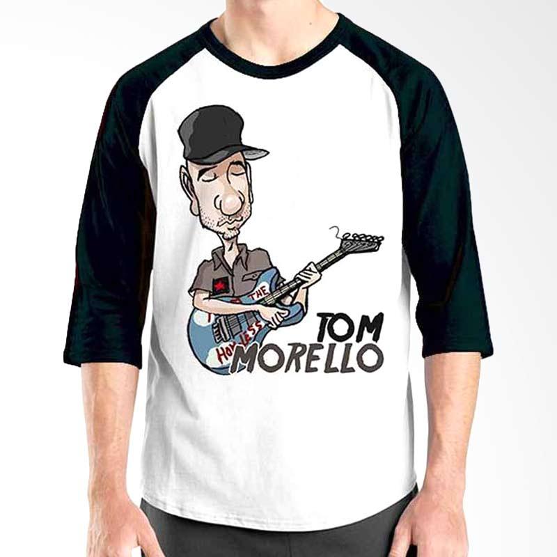 Ordinal Cartoon Musician Edition Tom Morrelo Raglan