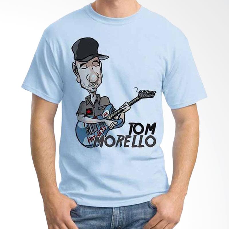 Ordinal Cartoon Musician Tom Morello T-shirt