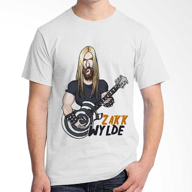 Ordinal Cartoon Musician Zakk Wilde T-shirt