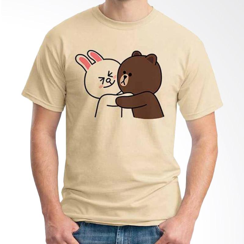 Ordinal Funny Emoticon Edition Brown & Cony 03 T-shirt