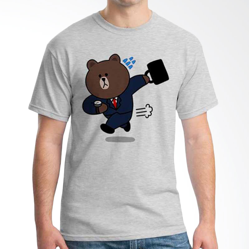 Ordinal Funny Emoticon Edition Brown 01 T-shirt