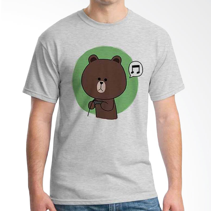 Ordinal Funny Emoticon Edition Brown 04 T-shirt