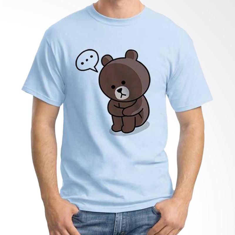 Ordinal Funny Emoticon Edition Brown 05 T-shirt