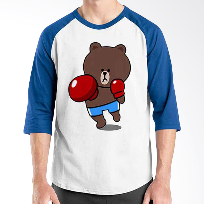 Ordinal Funny Emoticon Edition Brown 08 Raglan