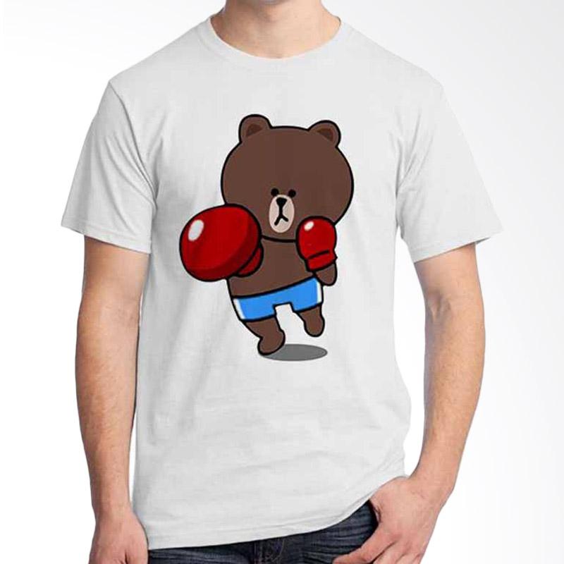 Ordinal Funny Emoticon Edition Brown 08 T-shirt