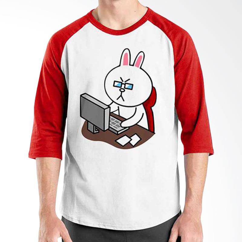 Ordinal Funny Emoticon Edition Cony 02 Raglan