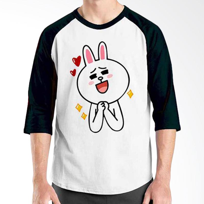 Ordinal Funny Emoticon Edition Cony 03 Raglan
