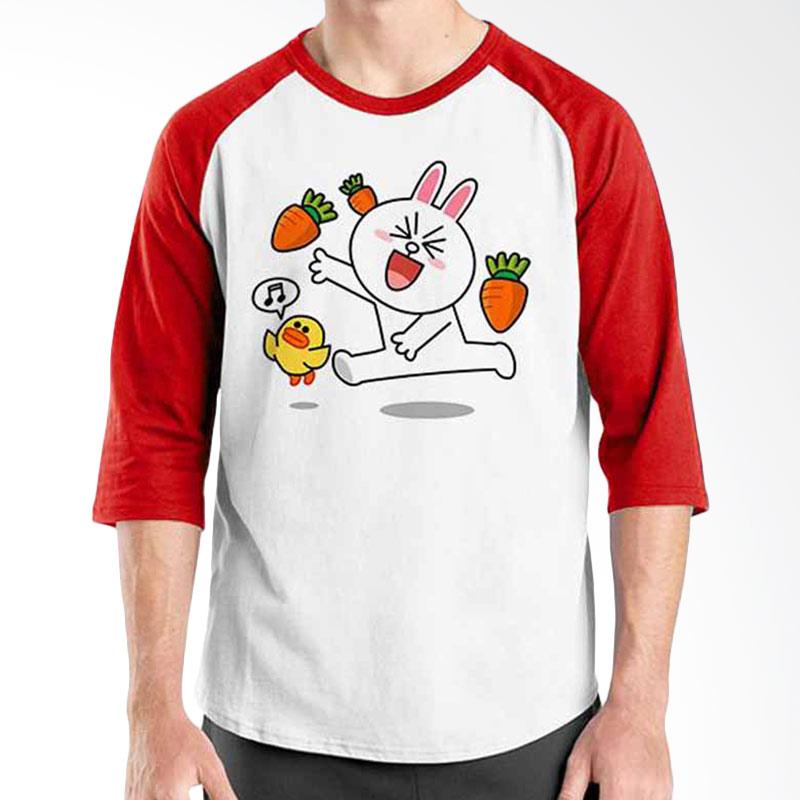 Ordinal Funny Emoticon Edition Cony 06 Raglan