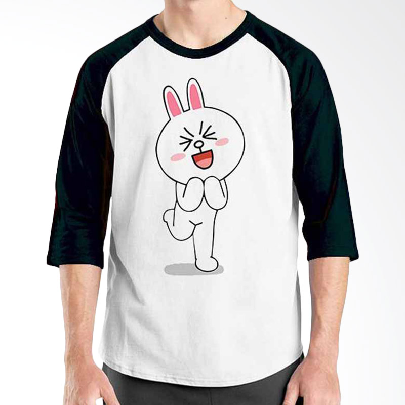 Ordinal Funny Emoticon Edition Cony 08 Raglan