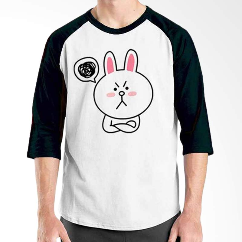 Ordinal Funny Emoticon Edition Cony 15 Raglan