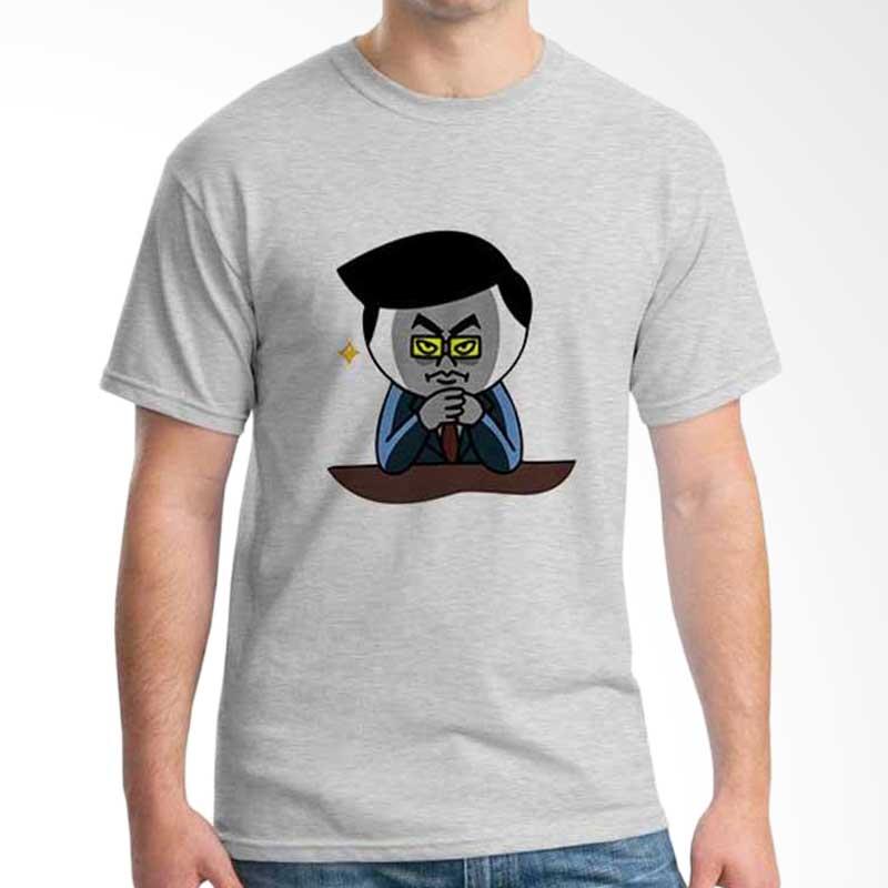 Ordinal Funny Emoticon Edition Moon 05 T-shirt