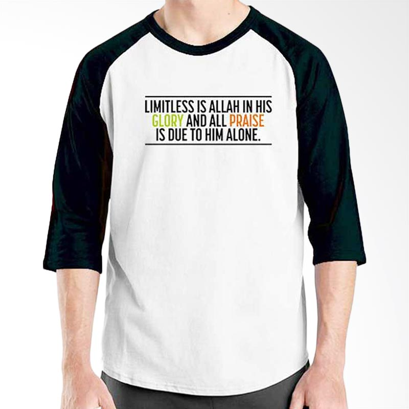 Ordinal Islamic Quotes Edition Glory and Praise Raglan
