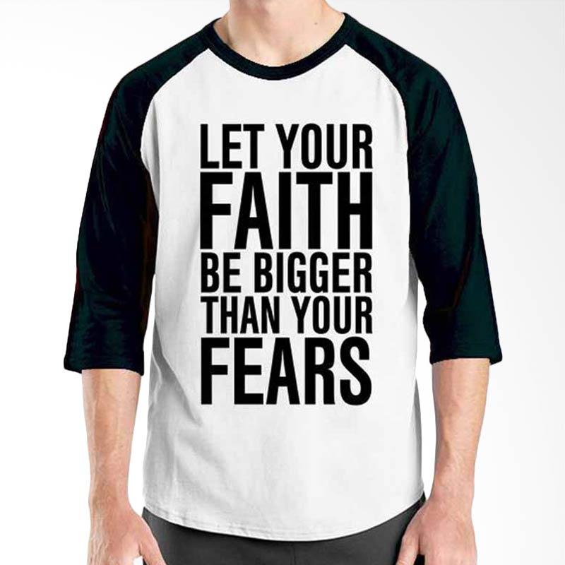 Ordinal Islamic Quotes Edition Let Your Faith Raglan