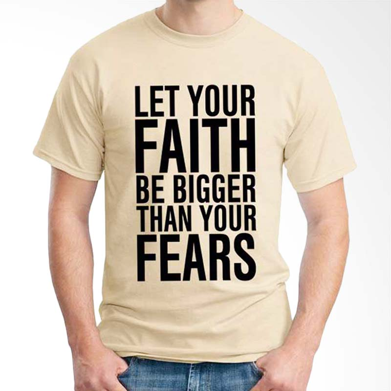 Ordinal Islamic Quotes Edition Let Your Faith T-shirt