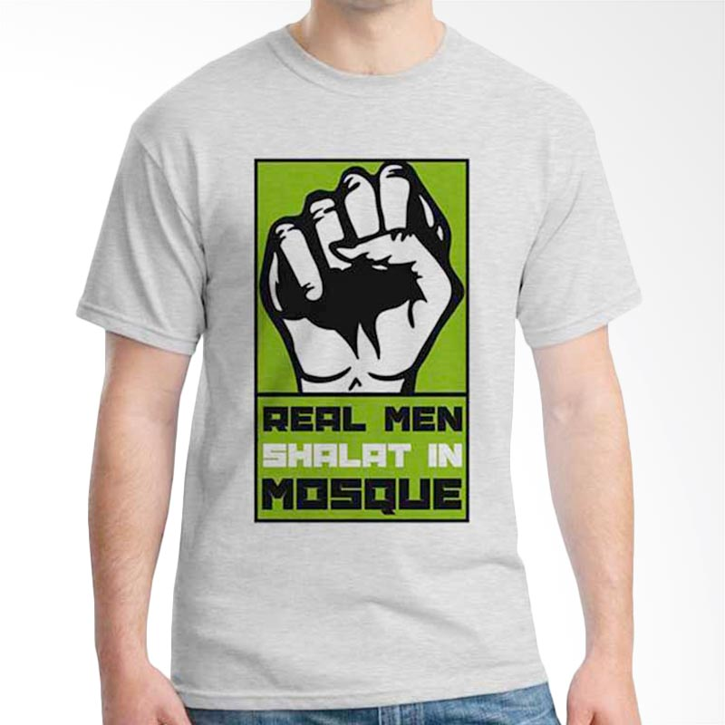 Ordinal Islamic Quotes Edition Real Man T-shirt