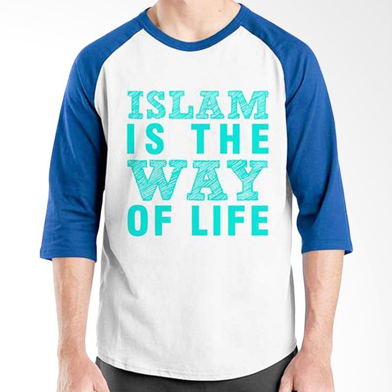 Ordinal Islamic Quotes Edition Way of Life Raglan
