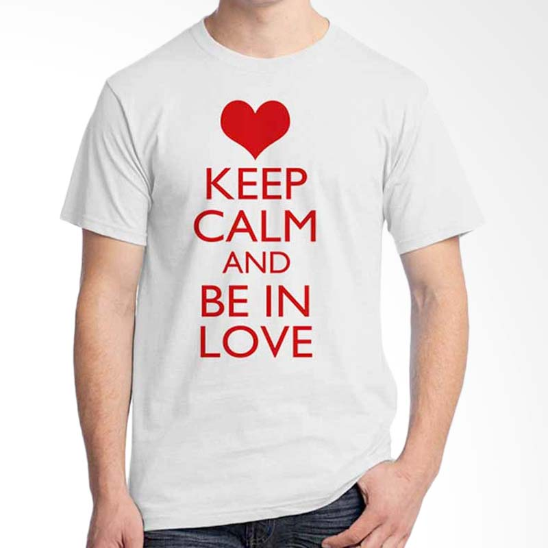Ordinal Keep Calm And Be In Love T-shirt