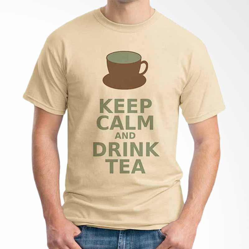 Ordinal Keep Calm And Drink Tea T-shirt