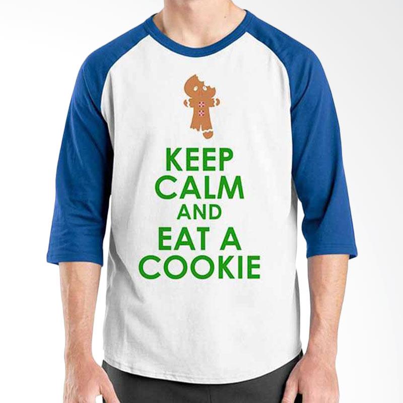 Ordinal Keep Calm and Eat Cookie Raglan