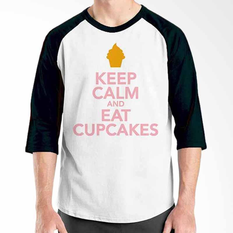 Ordinal Keep Calm and Eat Cupcakes Raglan