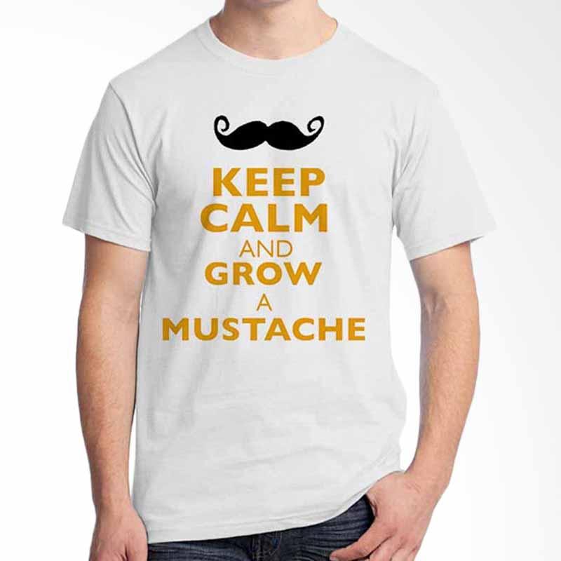 Ordinal Keep Calm And Grow a Mustache T-shirt