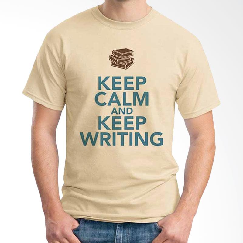 Ordinal Keep Calm And Keep Writing T-shirt