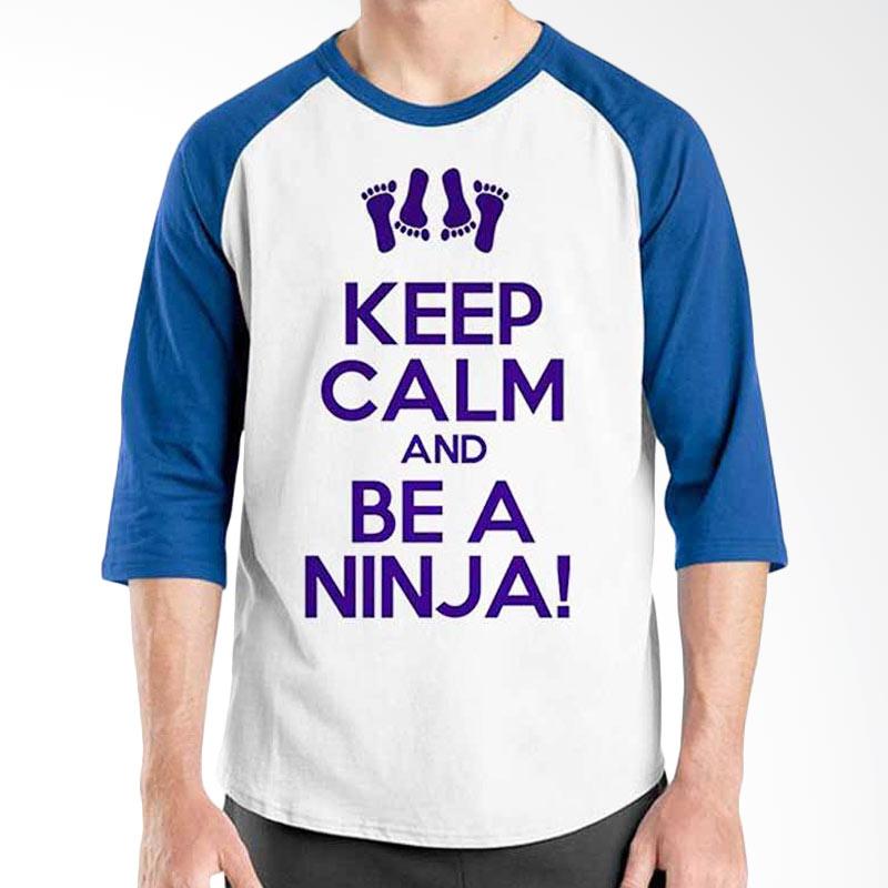 Ordinal Keep Calm and Ninja Raglan