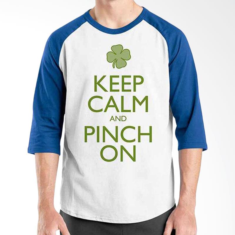 Ordinal Keep Calm and Pinch On Raglan
