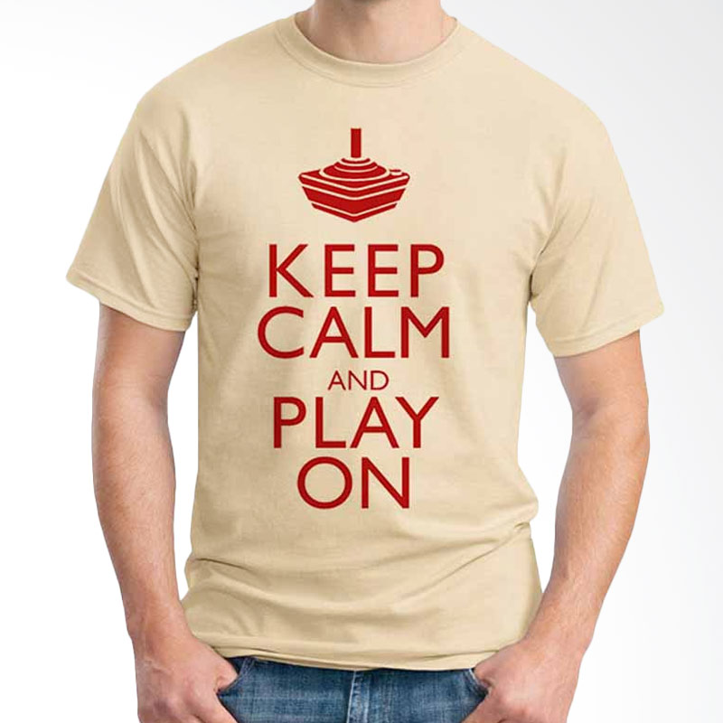 Ordinal Keep Calm And Play On T-shirt